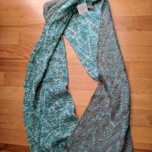 Vanity Other - Blue and gray infinity scarf